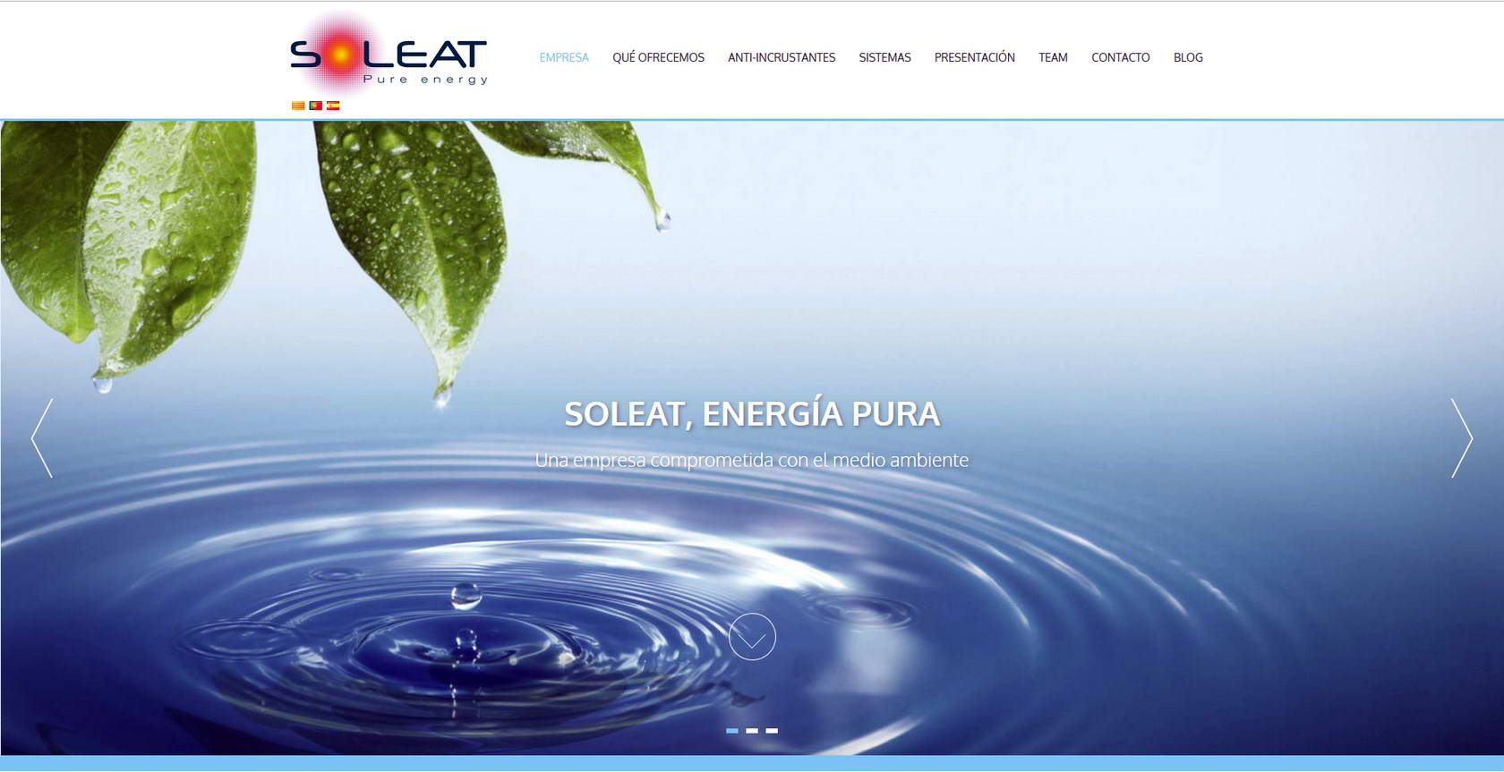 Webs: Soleat