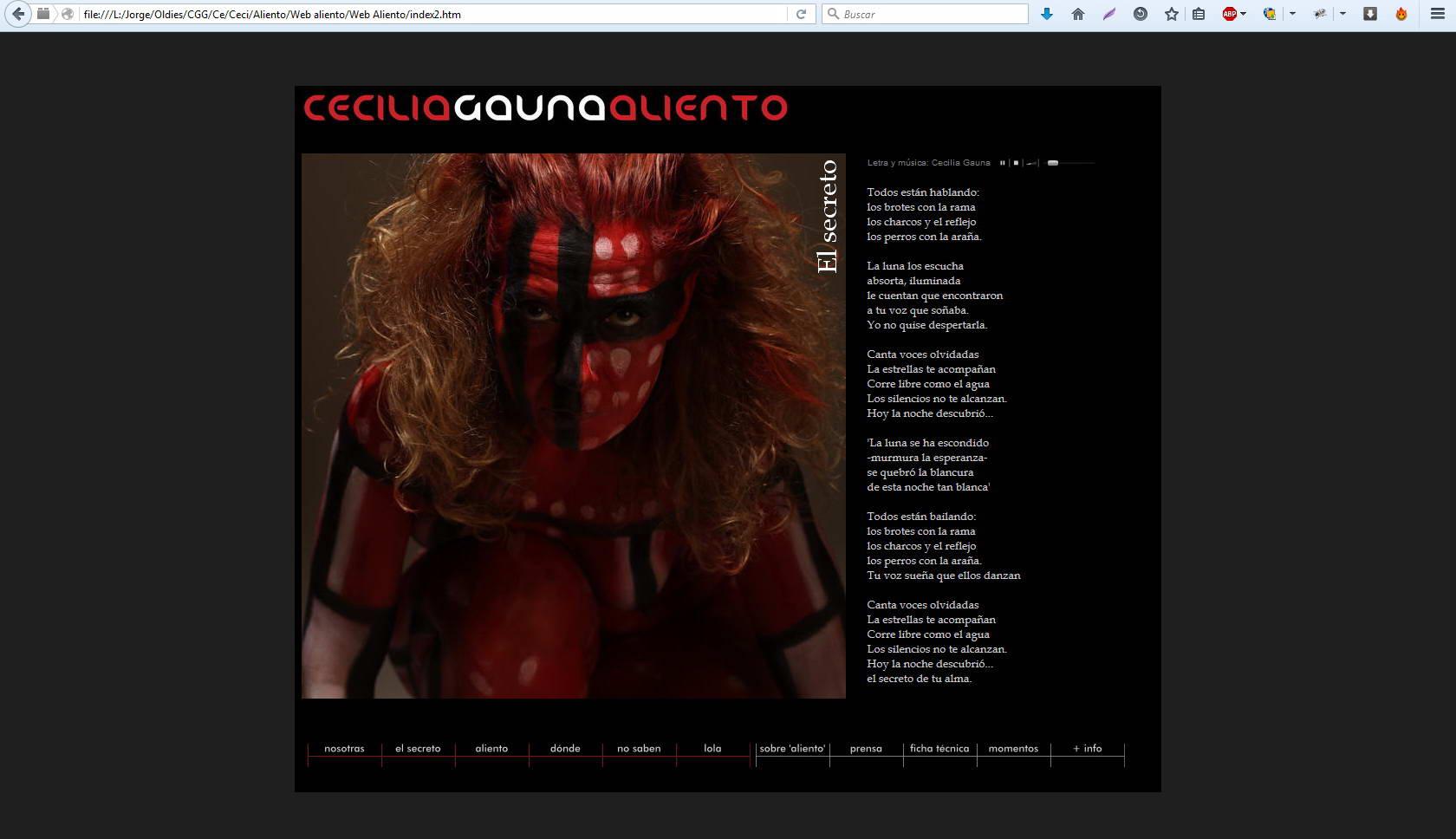 Webs: Aliento