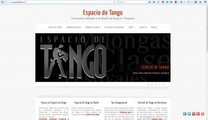 Espacio de Tango web Dicen de mí