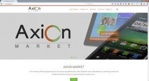 Axion Market web Dicen de mí